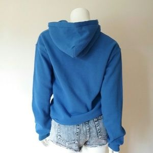 RVA Tops - RVA Hoodie Blue Sweatshirt Richmond Virginia